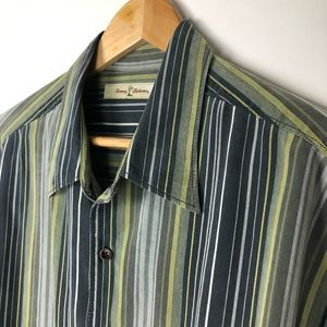Tommy Bahama Shirts - Tommy Bahama Striped Long Sleeve Size XL